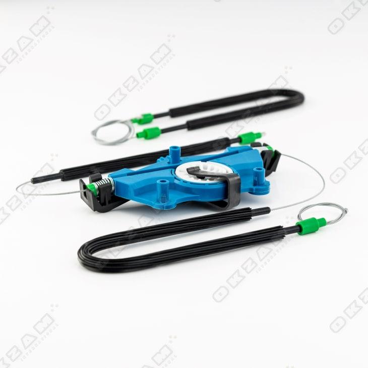 Fensterheber Reparatursatz Set mit Motordeckel VL für SEAT LEON 1M 99-06