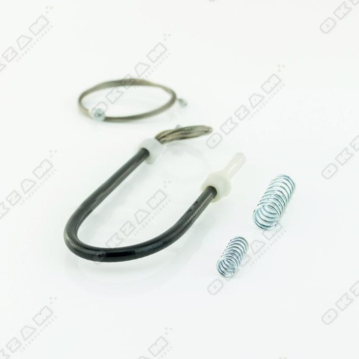 Fensterheber Reparatur Clip Gleitstück hinten links für PEUGEOT 206 CC CABRIO