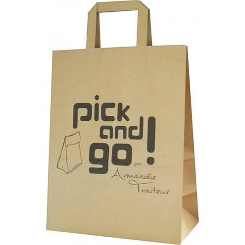sac en papier kraft pick and go