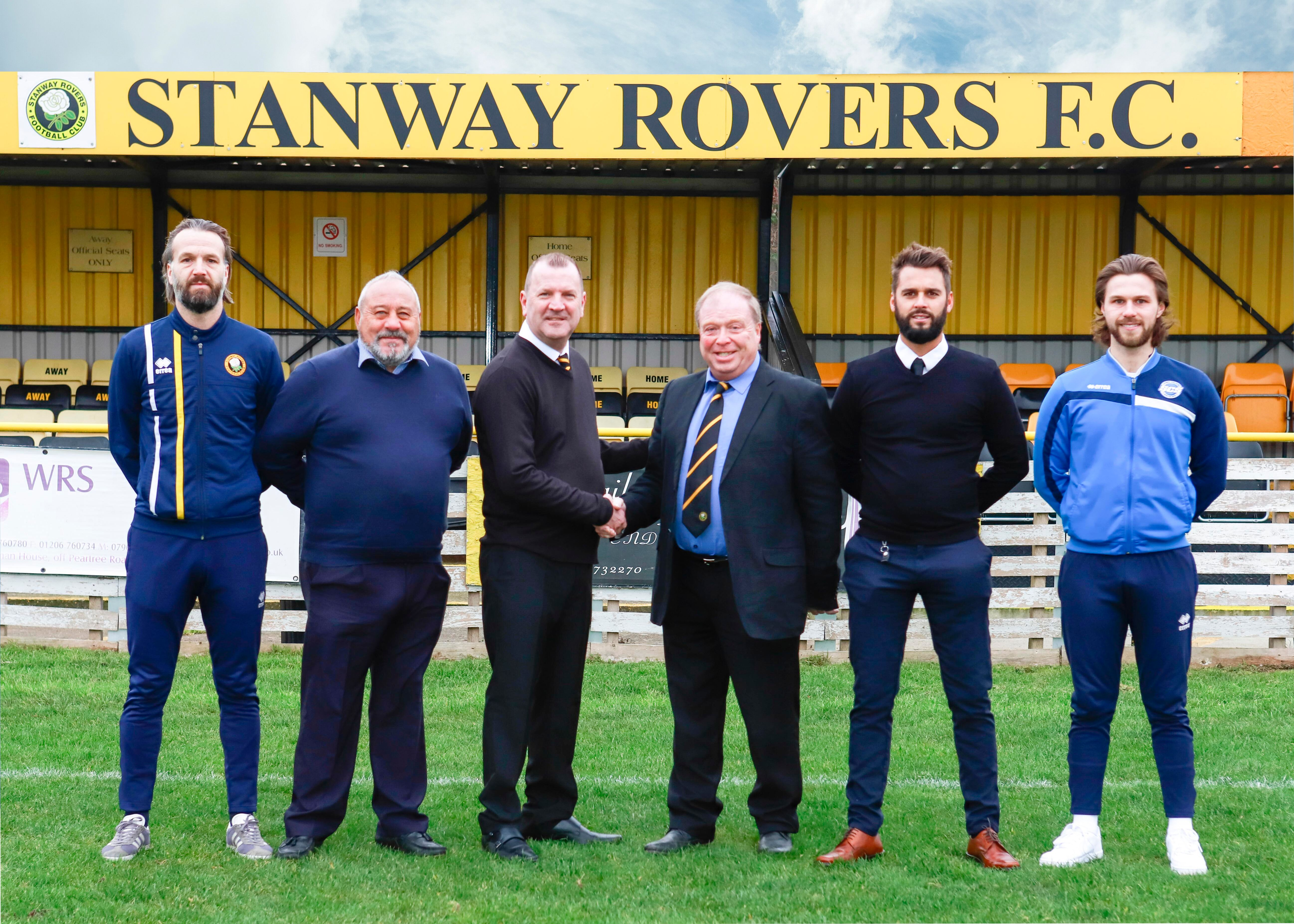 stanway rovers management team