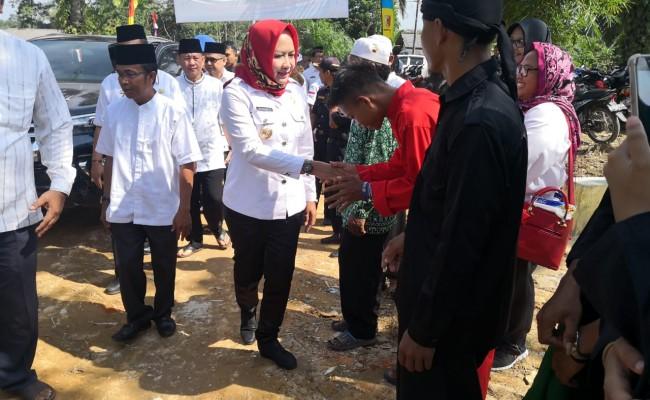 Isra Mi'raj Di Kampung Ringin Sari Dihadiri Winarti