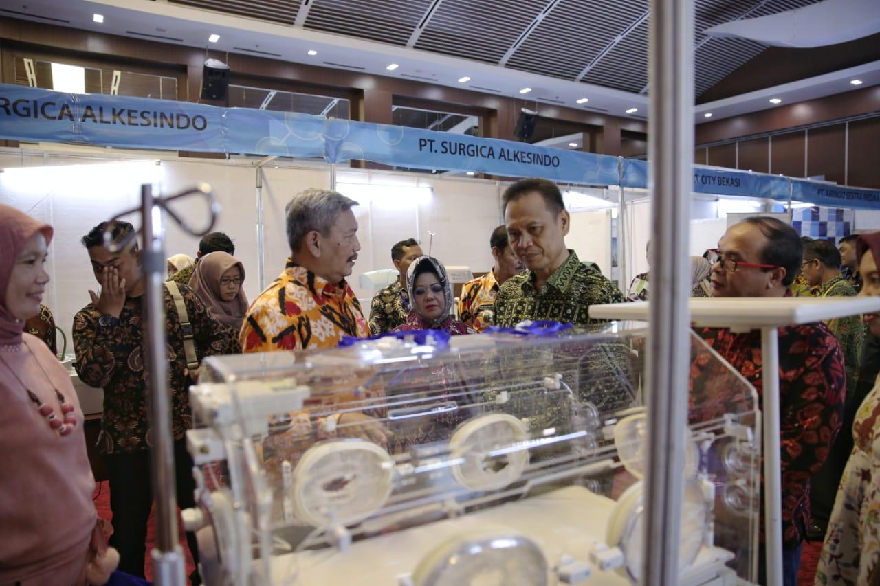 Rapat Kerja Wilayah Asosiasi Rumah Sakit Daerah (Arsada) Provinsi Lampung