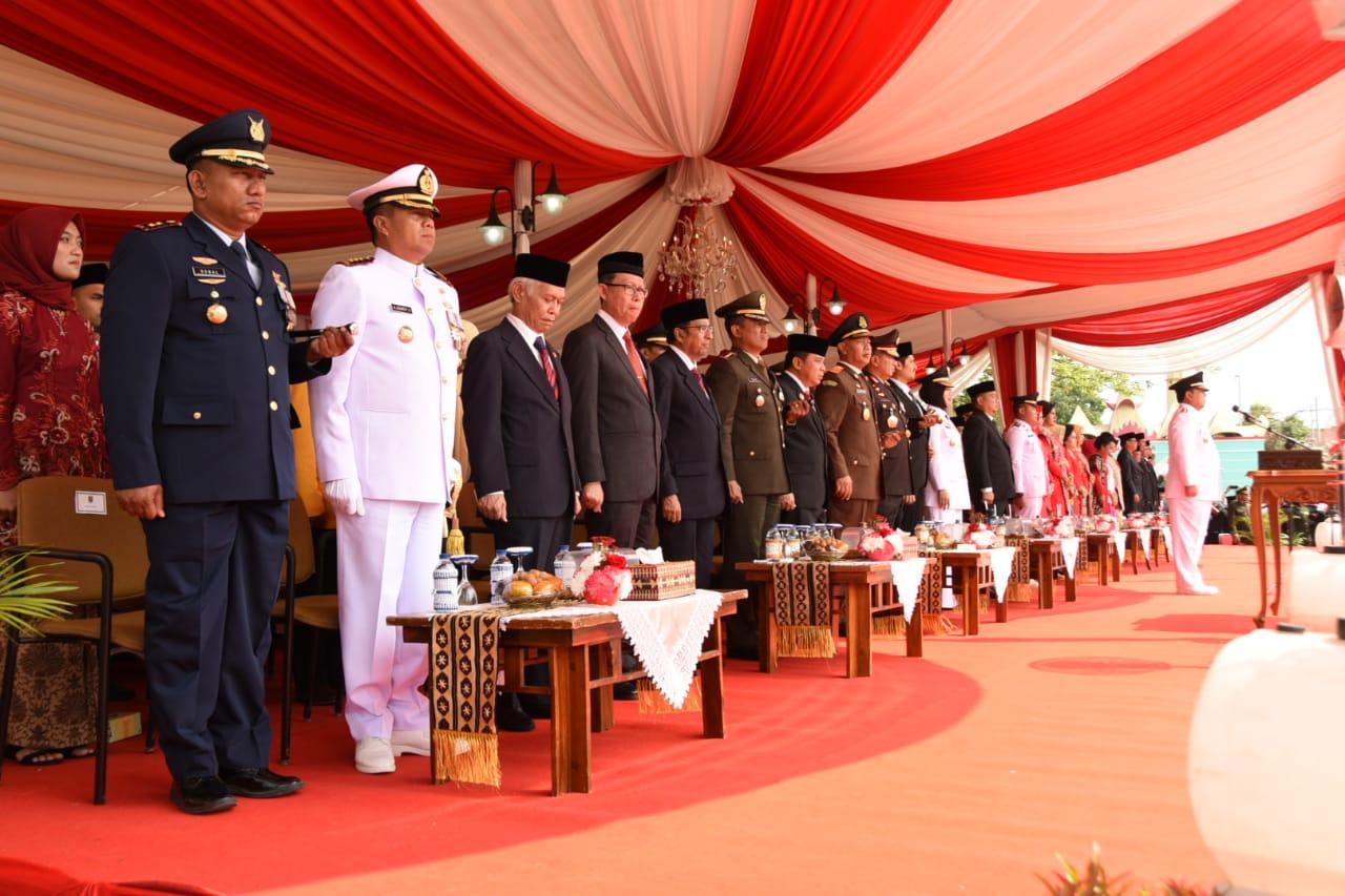 Lanud Pangeran M. Bun Yamin Turut Serta Dalam Memperingati HUT RI ke-74 di Empat Wilayah