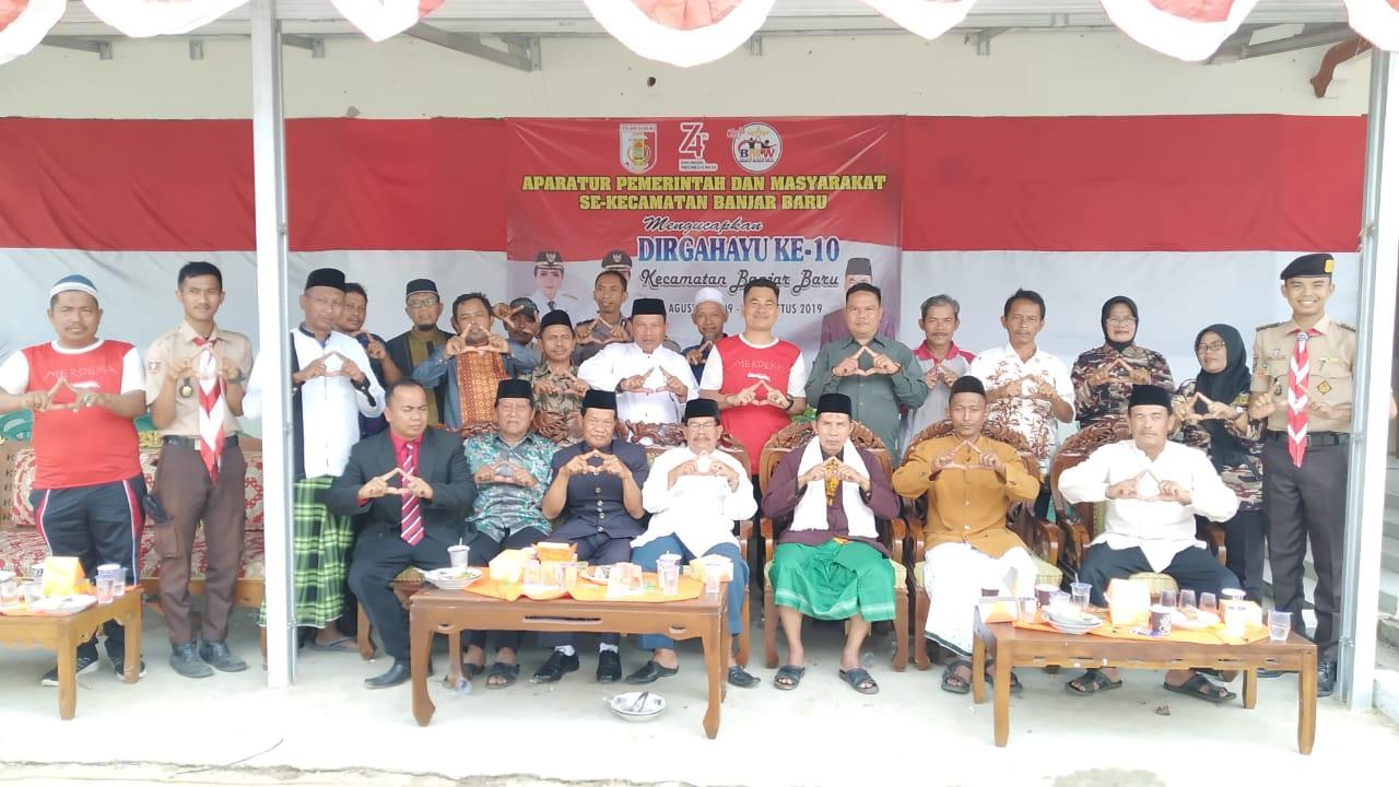 Kecamatan Banjar Peringati Hari Ulang Tahun ke 10