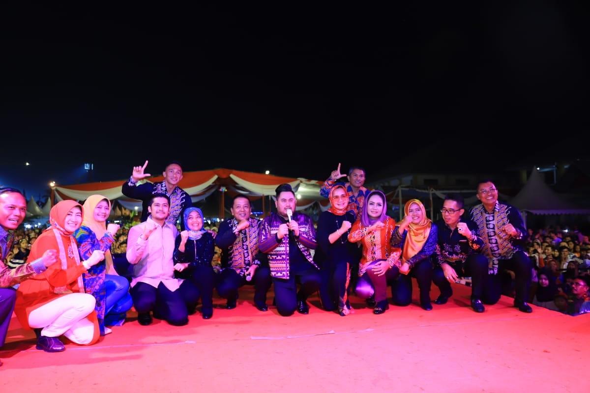 Stand Tulang Bawang Juara 2 Kategori Anjungan Terbaik PRL 2019
