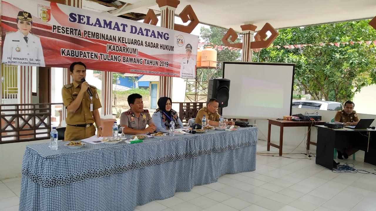 Pembinaan Kadarkum Di Banjar Baru, Mekar Jaya Kampung Sadar Hukum