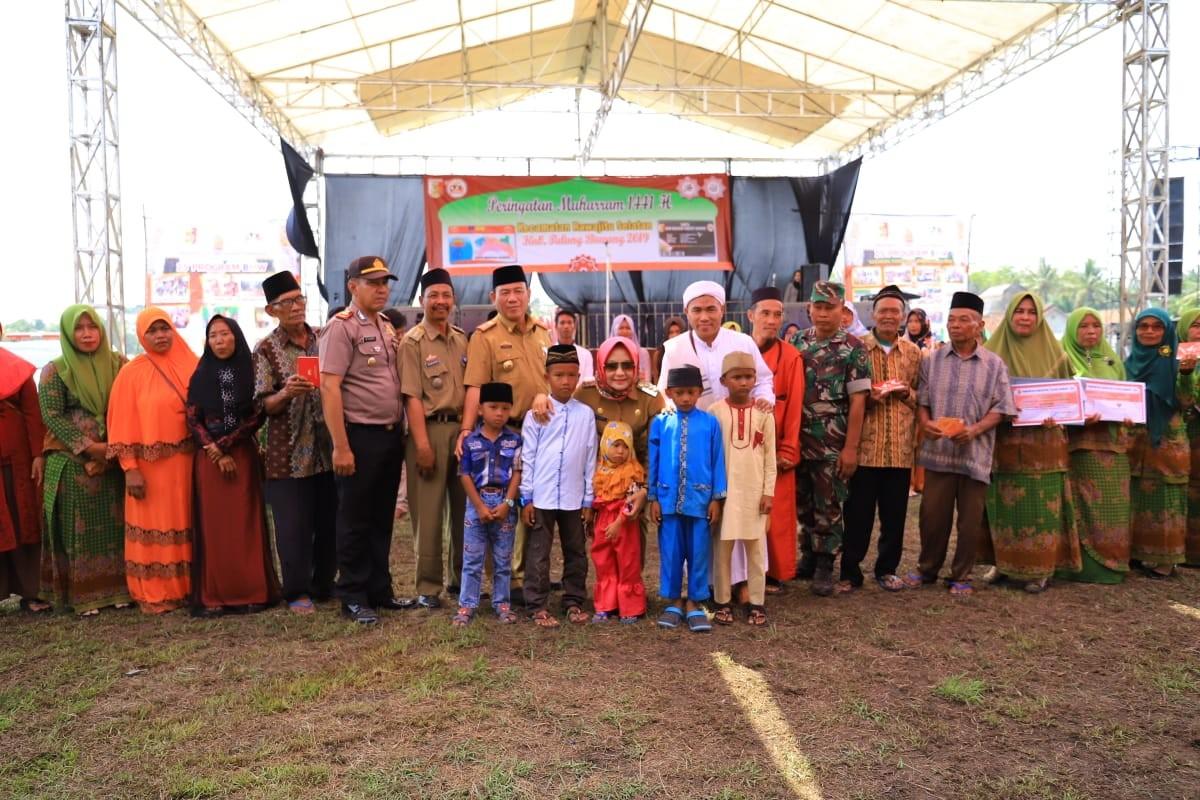 Winarti Hadiri Peringatan Bulan Muharram 1441 Hijriah Di Kecamatan Rawajitu Selatan