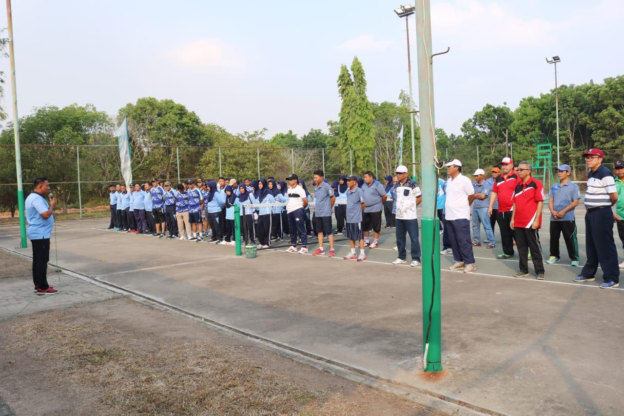 Olahraga bersama Lanud BNY dengan PT Sugar Group Companies (SGC)