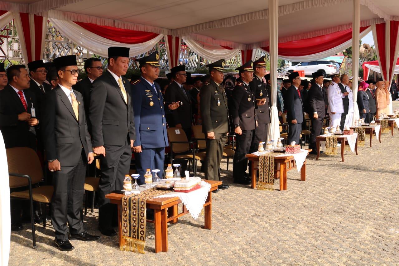 Upacara Hari Kesaktian Pancasila dan Apel Khusus Kenaikan Pangkat di Lanud Pangeran M. Bun Yamin