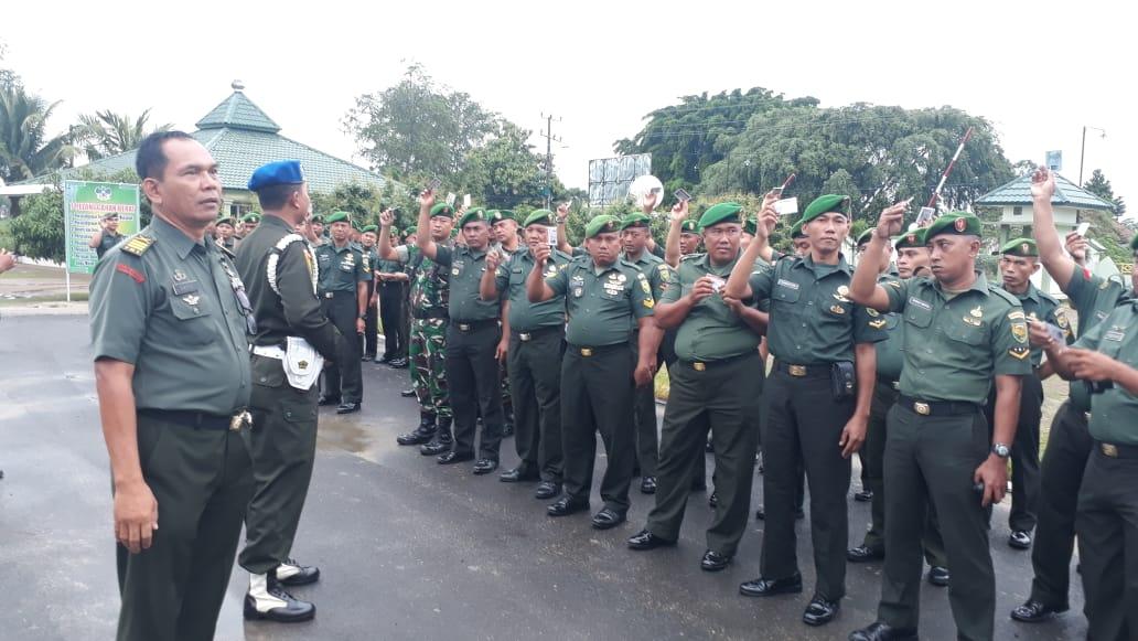 Kegiatan inspeksi mendadak yang dilakukan sebagai usaha preventif dan meminimalisir pelanggaran-pelanggaran anggota TNI- AD khususnya anggota Kodim 0426/TB dalam berlalu lintas di jalan raya.