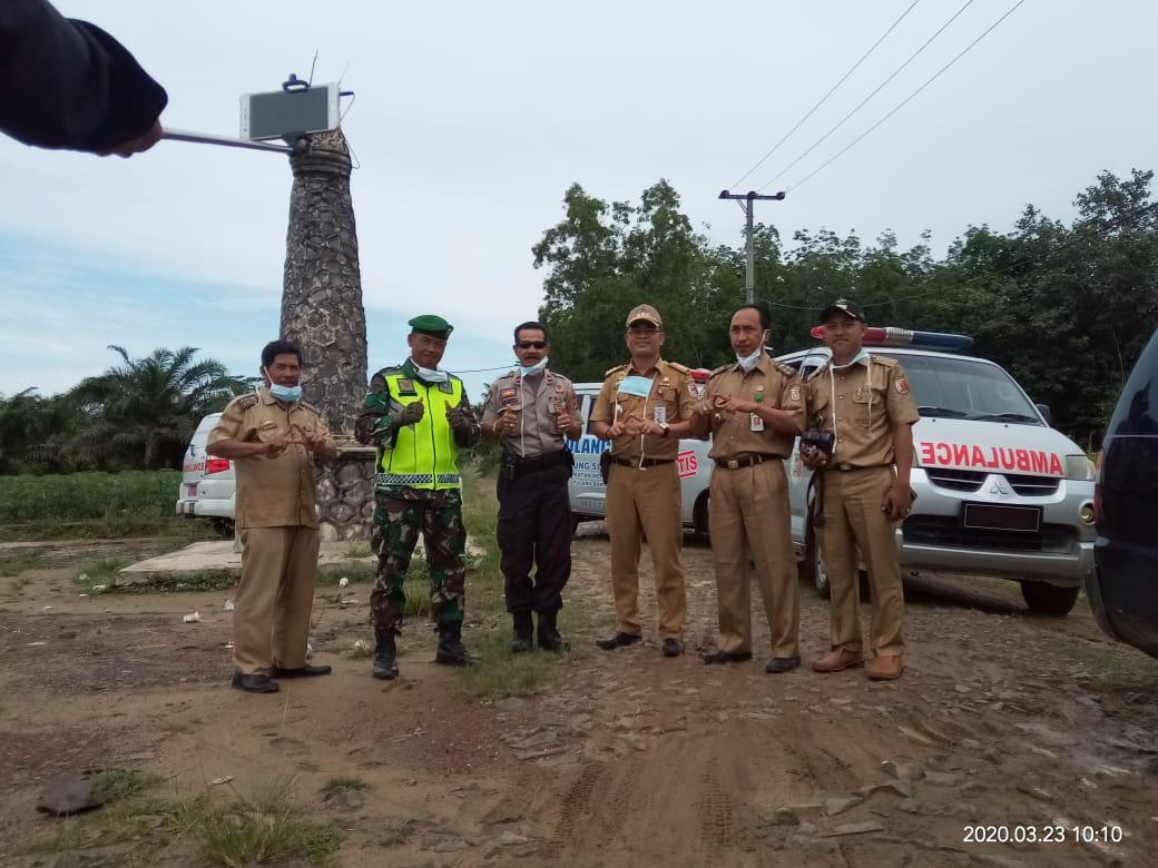 Dinas Kesehatan Tulangbawang melalui UPTD Puskesmas Rawat Inap Panduan Rajawali, dan Unsur Uspika Kecamatan Meraksa Aji, melakukan road show ke-8 Kampung.
