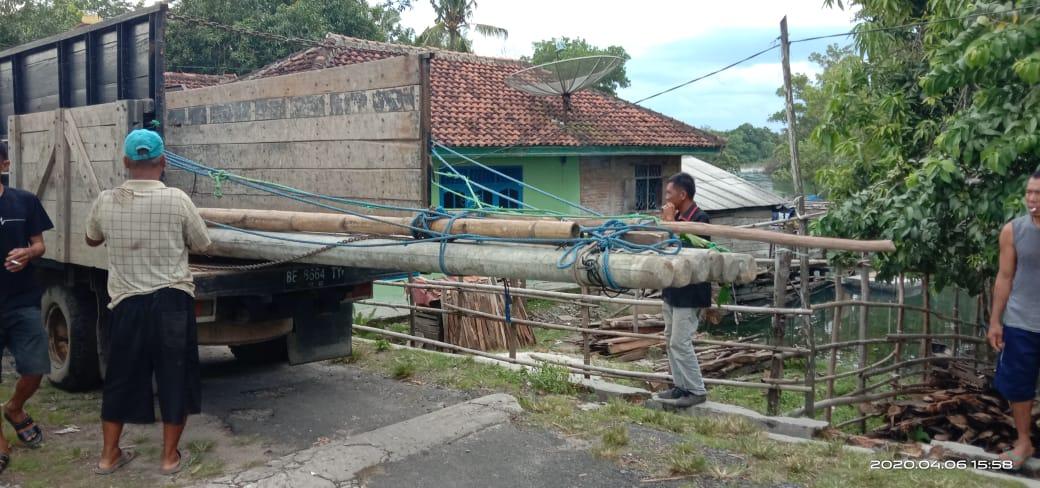 Merealisasikan pembangunan yang menjadi prioritas utama bagi masyarakat di kampung Gedung Aji