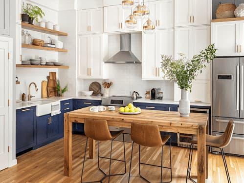 [Before/After] แปลงโฉม 5 ห้องครัวด้วยโทน ขาว-น้ำเงิน