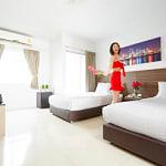 Praso รัชดาซอย 3 เดิน 5 นาทีจาก MRTพระราม 9หรูระดับโรงแรม รายเดือนรายวันราคาหลักร้อย