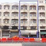 ขายตึกแถว 2 คูหา 4.5 ชั้นมีดาดฟ้า ติดถนนจรัญสนิทวงศ์ ใกล้รถไฟฟ้าสถานีท่าพระ