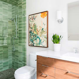 ลอง 8 ไอเดียจากการรีโนเวท ช่วยให้ทำความสะอาดห้องน้ำง่ายขึ้น