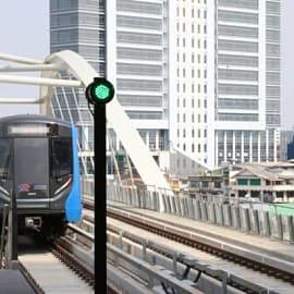 """นั่งฟรี! เริ่ม 15 ก.พ. รถไฟฟ้าสายสีน้ำเงิน """"เตาปูน-ท่าพระ"""" เปิด 06.00-24.00 น. ถึง 29 มี.ค.นี้"""