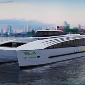 EA ทุ่ม 1 พันล้าน เรือโดยสารไฟฟ้าเจ้าแรกบนแม่น้ำเจ้าพระยา พร้อมเปิดให้บริการปลายปีนี้