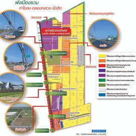 จิราธิวัฒน์-โอสถานุเคราะห์ พลิกที่ดินผืนใหญ่ผุดมิกซ์ยูส บูมรังสิต-คลองหลวง รับรถไฟฟ้าสีแดง