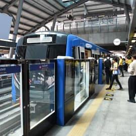 21 ก.ย. นั่งฟรี! รถไฟฟ้าสายสีน้ำเงินส่วนต่อยิงยาวถึงหลักสอง ก่อนเก็บค่าตั๋ว 29 ก.ย. นี้