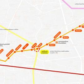 """คืบหน้ารถไฟฟ้าสายสีส้ม """"ศูนย์วัฒนธรรม-มีนบุรี"""" เสร็จ 71.38% พร้อมเปิดปี 67 เผยเจาะอุโมงค์ใต้ดินมาถึงลำสาลีแล้ว"""