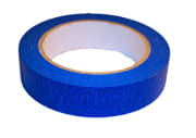 Maskeringstape (25 mm x 50 m), UV blå