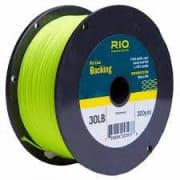 Rio Flyline Backing 30 lbs 300 yds Chartreuse