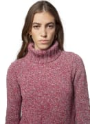 Fisherman Cable & Ribbed Polo Neck Cashmere