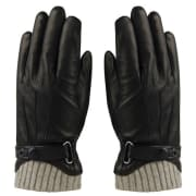 MJM Glove Ralph Leather Black