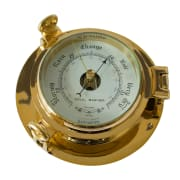 Barometer messing  D: 185 mm