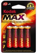 Batteri AA, 4 stk - Kodak