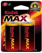 Batteri D, 2 stk - Kodak