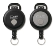 C&F Flex Pin-On Reel Black (CFA-72-BK)