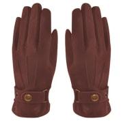MJM Glove Smith Sheep Nubuk Chestnut