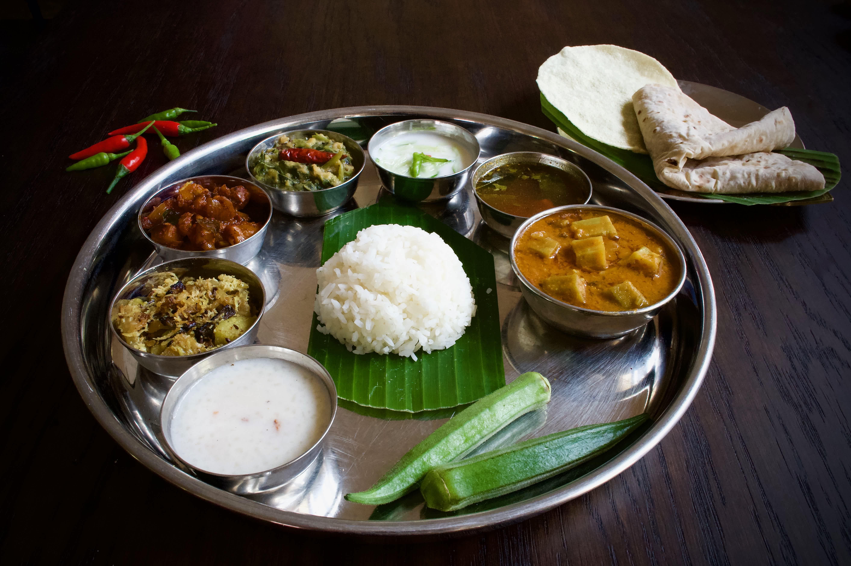 Order a southern thali at Baba's Kitchen