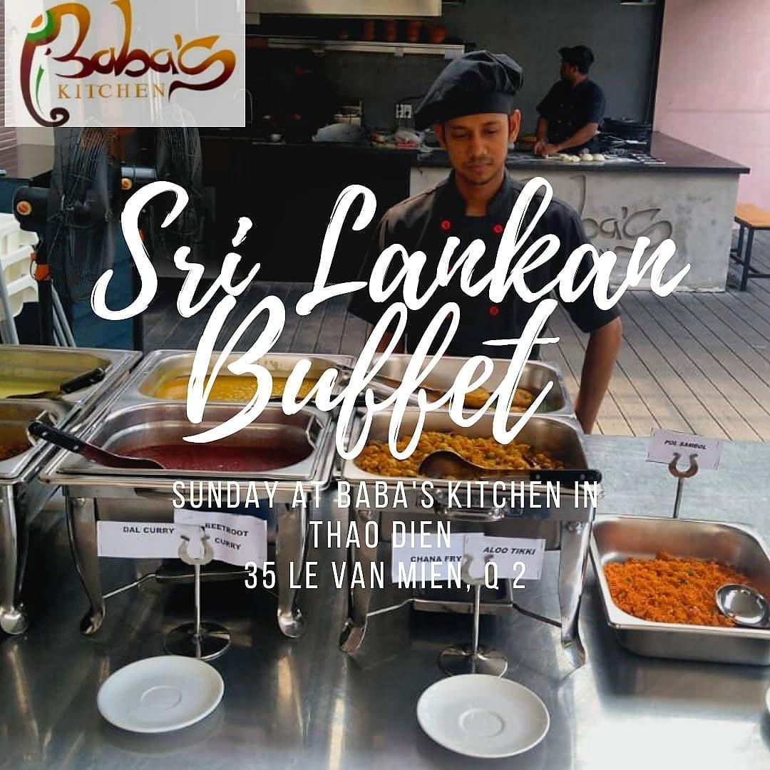 Sri Lankan Buffet at Baba's Kitchen
