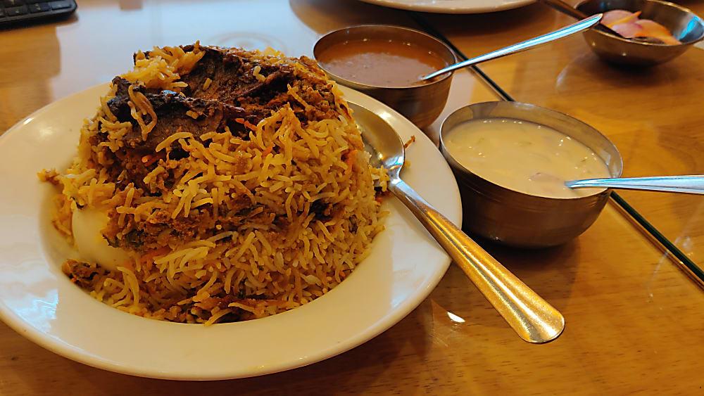 Special Sunday Biryani at Baba's Kitchen