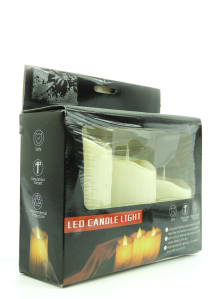 LED candle set