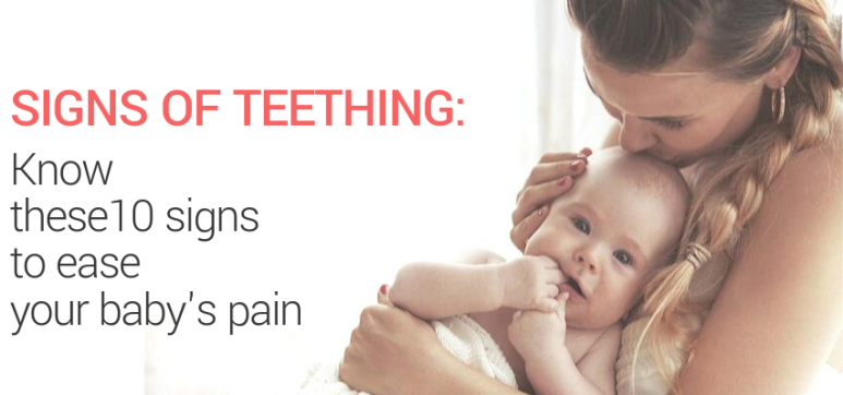 Signs of Teething