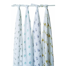 aden + anais 4 Pack Muslin Swaddle Wrap