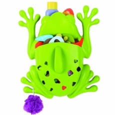 Boon Green Frog Bath Toy Scoop