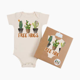 Wes and Willy Infant University of Miami Hurricanes Bodysuits 3 Pack Organic Cotton Set