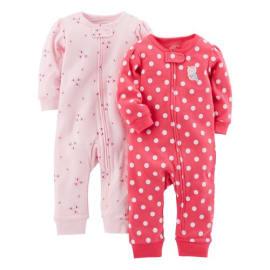 Baby Girls 6-12 Months Zutano Poppy Overall