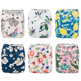 Gym Bag for Swimsuits /& Wet Clothes with 2 Pockets 3 Pack 3LN09 Beach Washable Travel Bags Pool Babygoal Wet Dry Bags for Baby Cloth Diapers