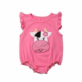 TWISTED ENVY Ice Cream Dream Baby Unisex Novelty All-Over Print Bodysuit Baby Grow Baby Romper