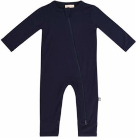 Zipper Closure 0-24 Months KYTE BABY Soft Bamboo Rayon Rompers