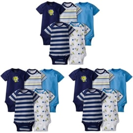 Sexcesal Baby Boys Girls Unisex Romper Bodysuit New UPenn Shield with Banner Infant Kawaii Jumpsuit Outfit 0-2T Kids