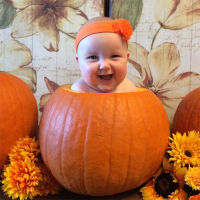 What's Cuter Than a Baby? A Baby in a Pumpkin