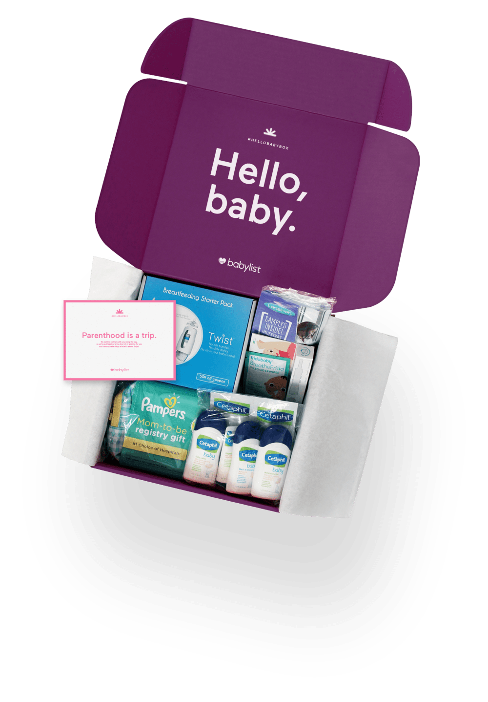 Get Your Free Hello Baby Box