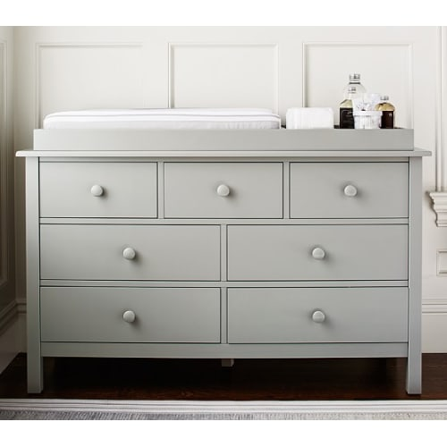 Nice Pottery Barn Extra Wide Dresser And Topper Set   $1,069.00